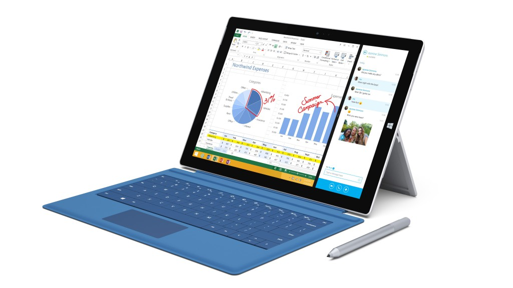 Surface Pro 3 with Type Cover and Surface Pen_1