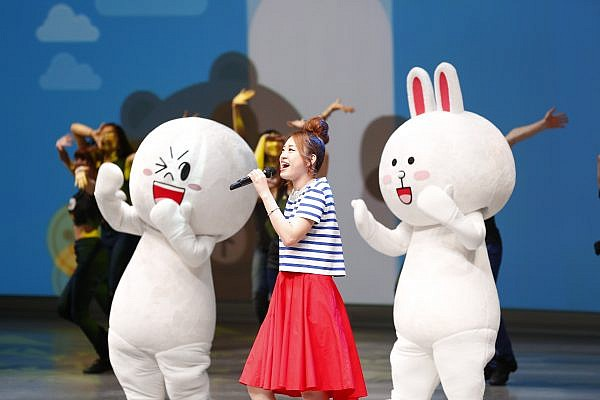 LINE Conference Tokyo 2014_opening ceremony