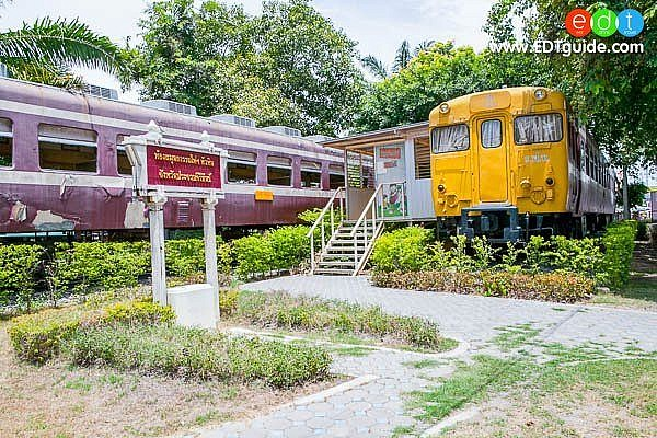 library-train-hua-hin