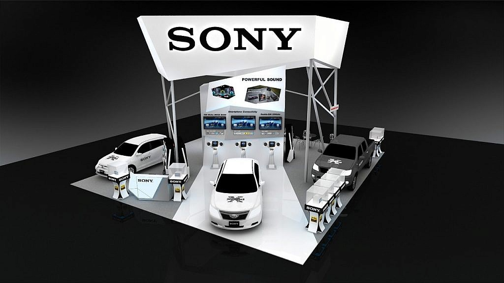 Sony Booth 1