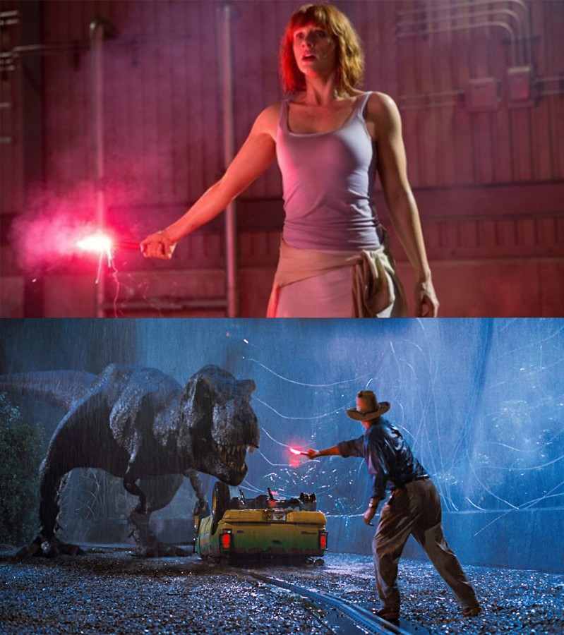 Jurassic World vs Jurassic Park