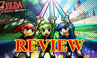 Review Zelda Tri Force Heroes w