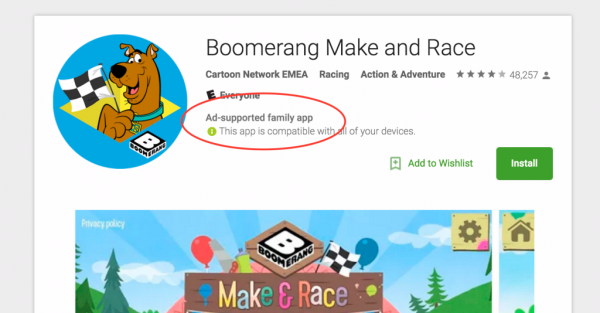 google-play-ad-supported