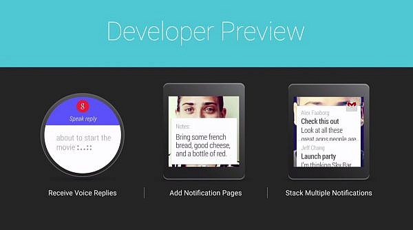 Developer-Preview-of-Android-Wear