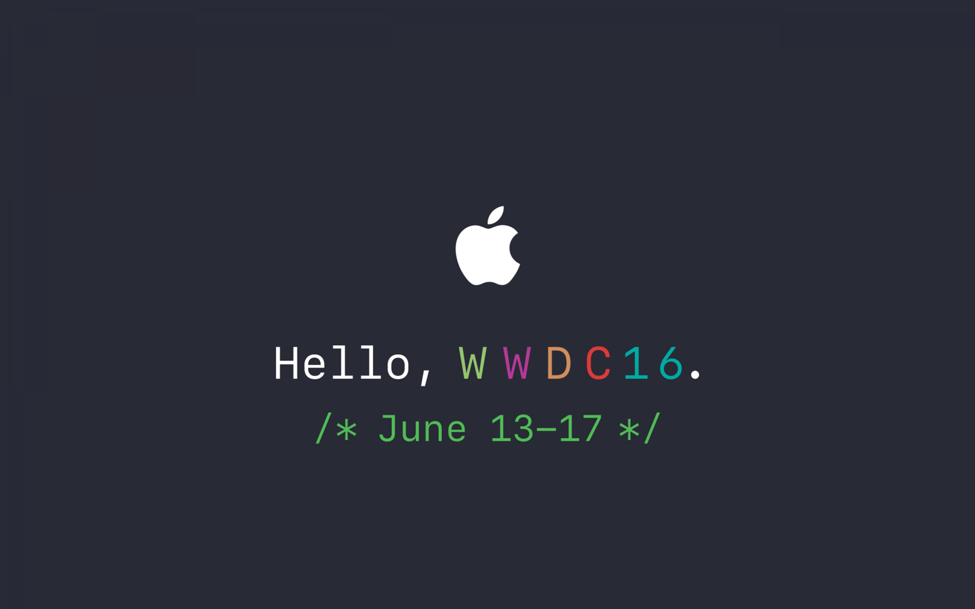 Text Transcripts WWDC 2016