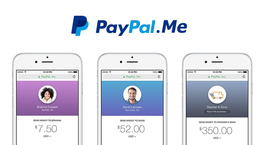 how to set up paypal me