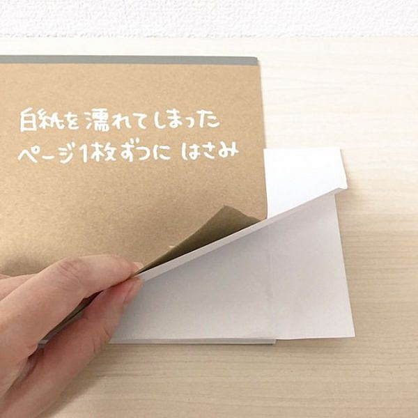 how-to-fix-wet-book-pages-with-a-simple-japanese-life-hack-2