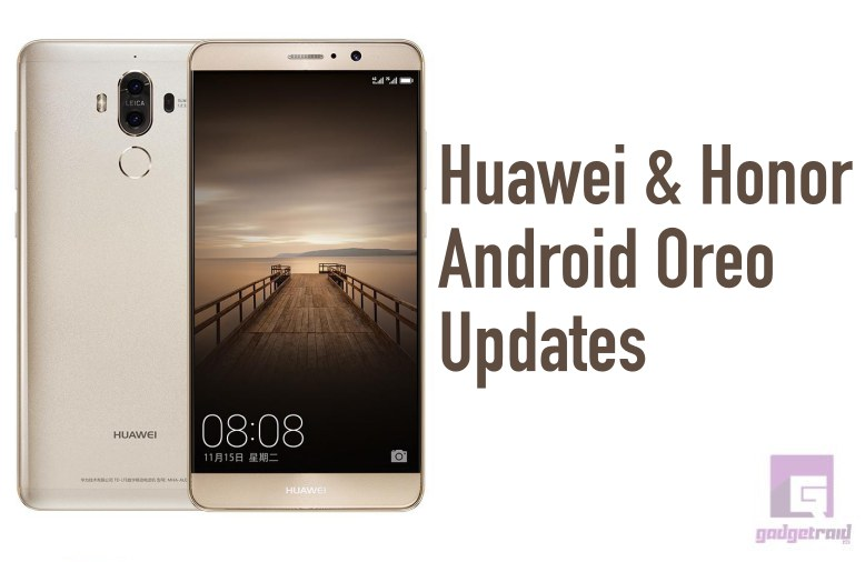 Actualizacion Huawei P9 Plus Android 8 idea gallery