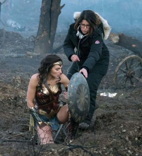 Patty Jenkins ใน Wonder Woman (2017)