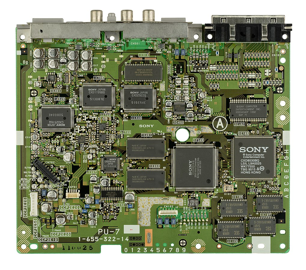 1018px-Sony-PlayStation-SCPH-1000-Motherboard-Top