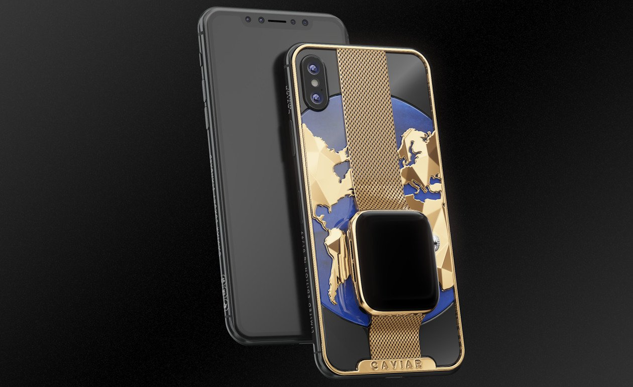 Apple iPhone XS Max Apple Watch Series 4 Caviar