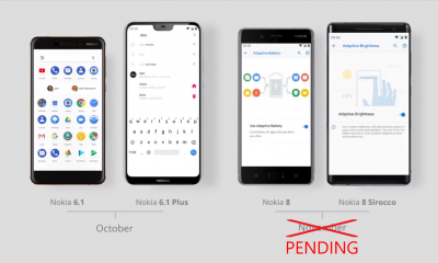 Nokia 8 Android Pie Update Pending