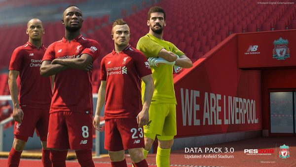 PES 2019 Anfield Liverpool