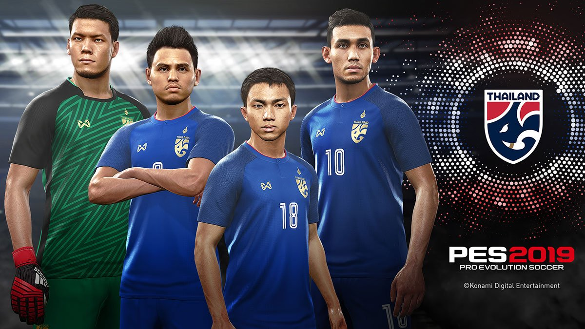PES 2019 Thailand National Football Team