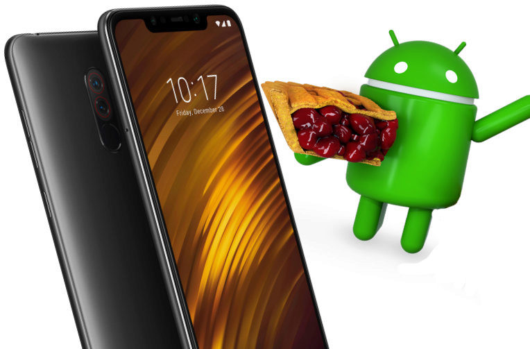 Pocophone F1 Android Pie