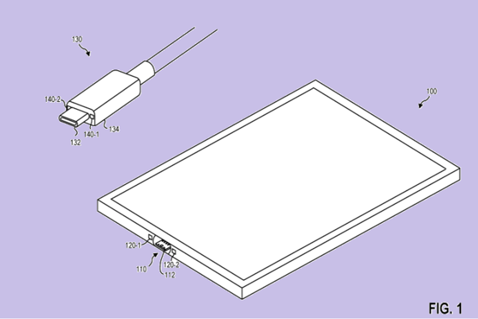 Microsoft USB-C Magnetic Patents