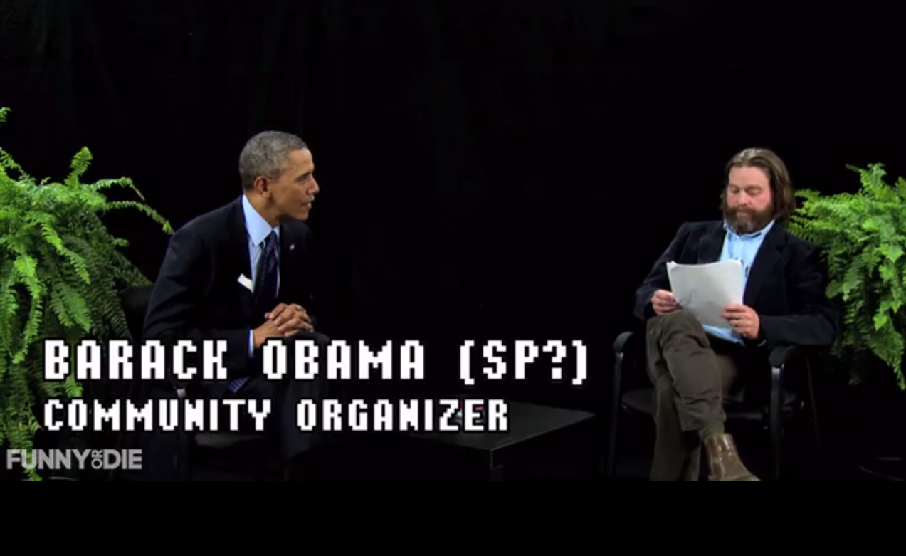 Between Two Ferns: The Movie obama