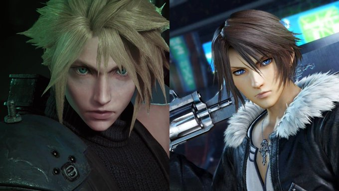 Final Fantasy VII and Final Fantasy VIII Remastered Twin Pack