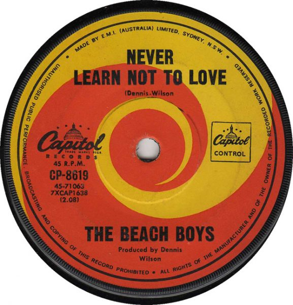 never learn not to love