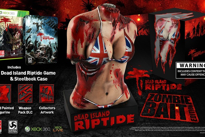 Dead Island Riptide Zombie Bait Collector's Limited