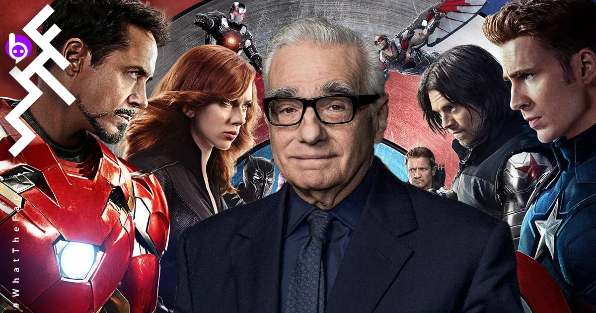 Martin Scorsese and Marvel