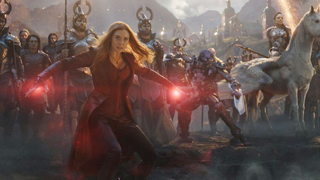 Scarlet Witch ใน Endgame