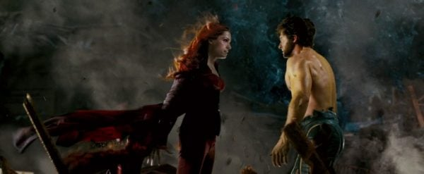 Jean Grey เผชิญหน้ากับ Wolverine ใน X-Men: The Last Stand