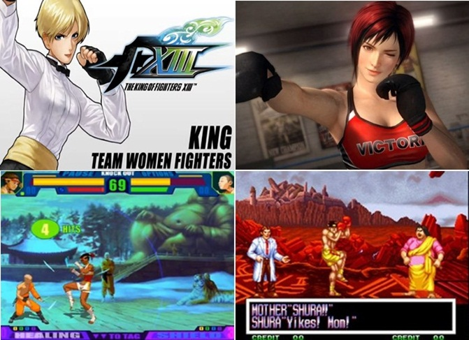 King of Fighter Dead or Alive Capoeira Fighter 3 World Heroes