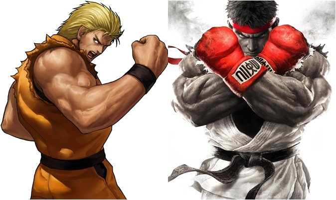 Art of Fighting, Street Fighter