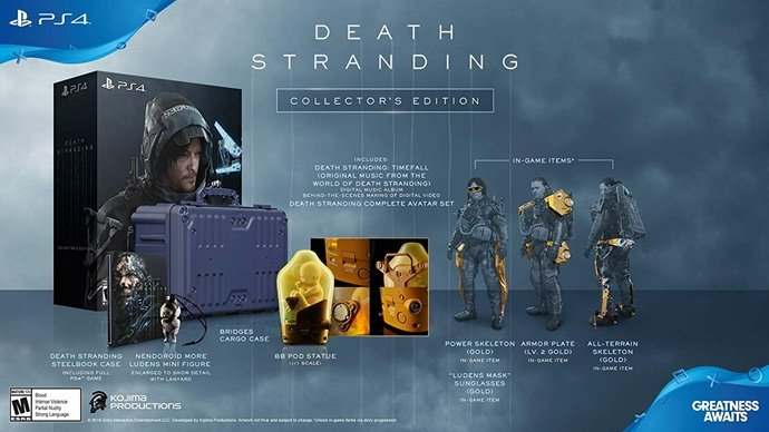 Death Stranding Collector Edition