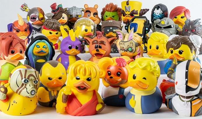 Cosplaying Ducks
