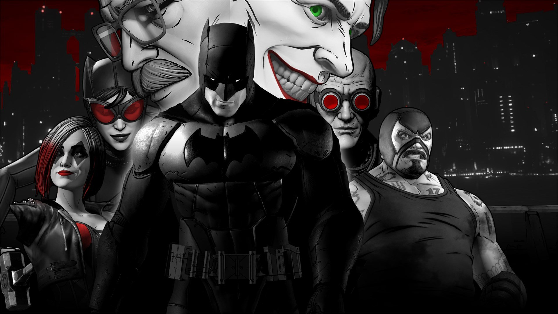 ชุดรวมเกม The Telltale Batman Shadows Edition