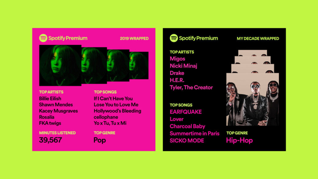 Spotify_Wrapped 2019