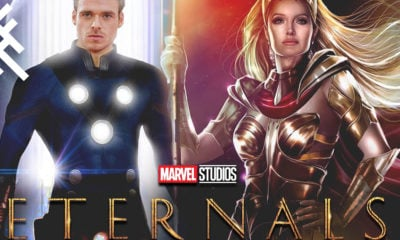Eternals Richard Madden Angelina Jolie