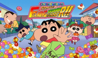 เกม Crayon Shinchan: The Storm Called! Flaming Kasukabe Runner!!