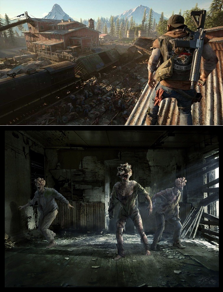 Days Gone, The Last of Us