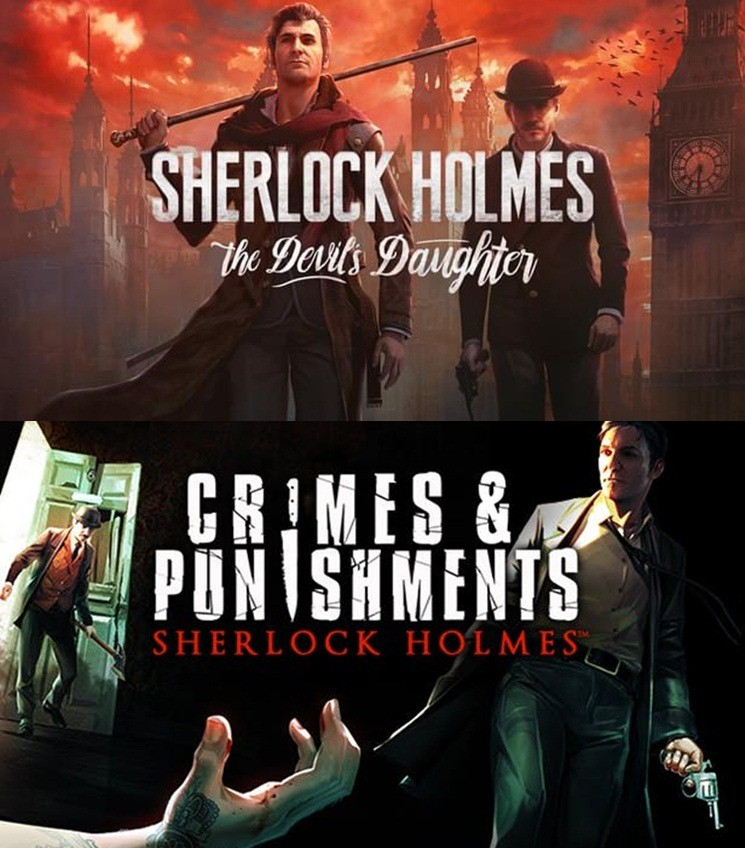 Sherlock Holmes The Devil's Daughter และ Sherlock Holmes Crimes and Punishments