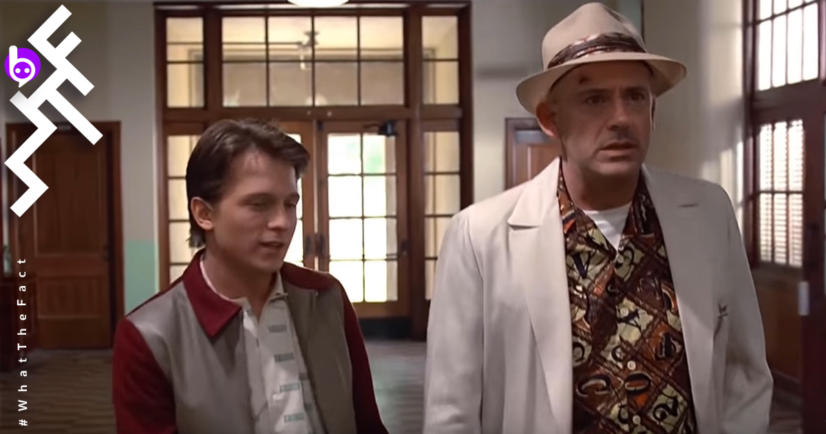 Back to the Future Robert Downey Jr. Tom Holland