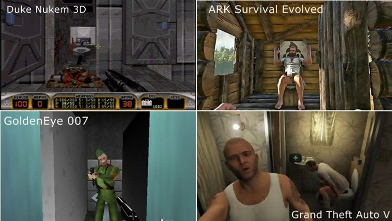 Duke Nukem 3D, ARK Survival Evolved, GoldenEye 007, Grand Theft Auto V