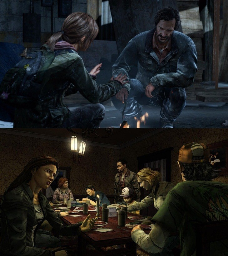 The Last of Us The Walking Dead