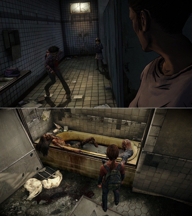 The Last of US, The Walking Dead