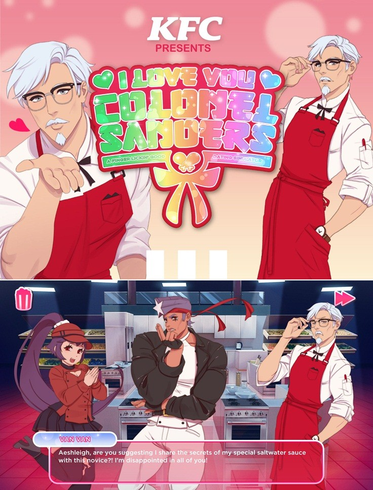 I Love You Colonel Sanders! A Finger Lickin 'Good Dating Simulator