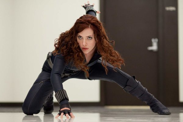 Black Widow ใน Iron Man 2