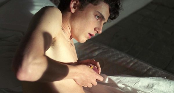 Timothée Chalamet ใน Call Me By Your Name (2017)