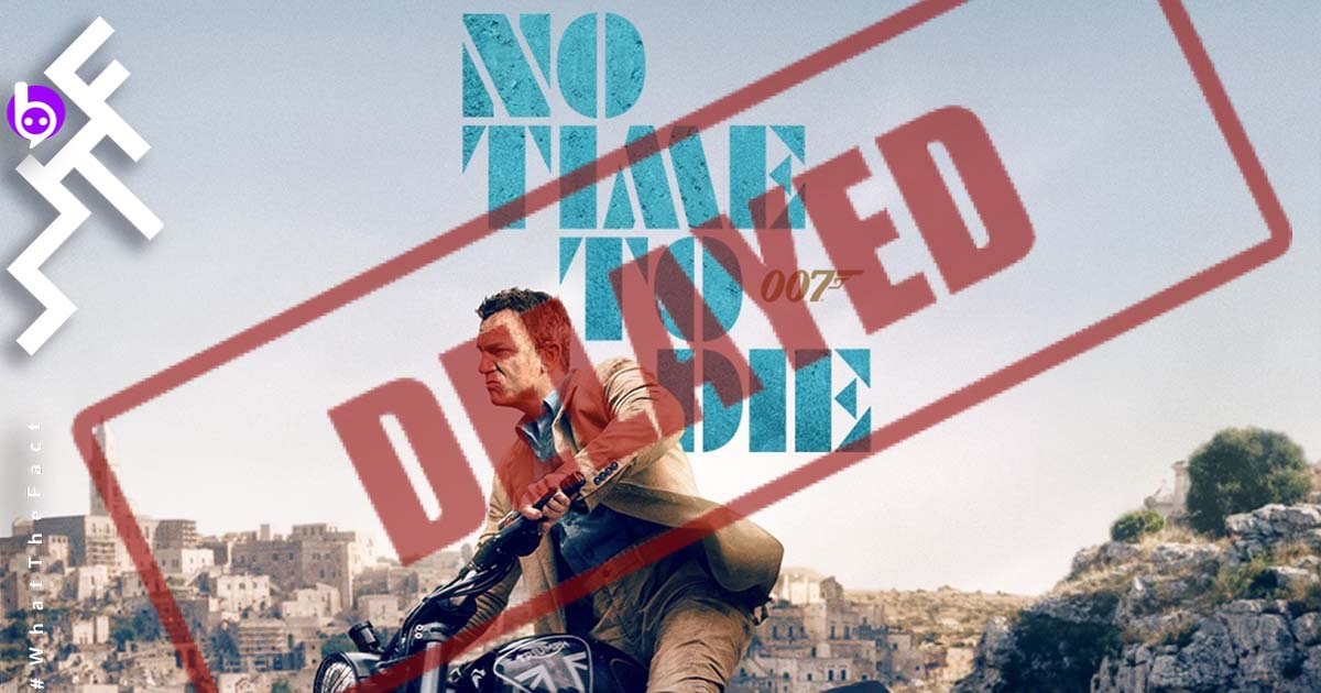 007 No Time To Die Delayed