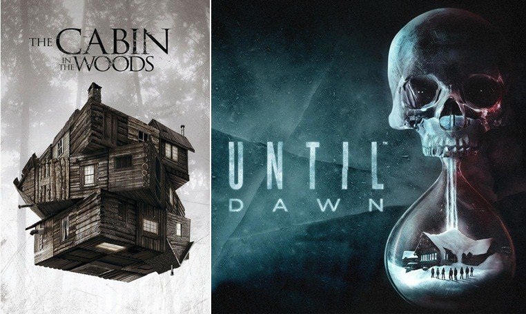Until Dawn กับ The Cabin in the Woods