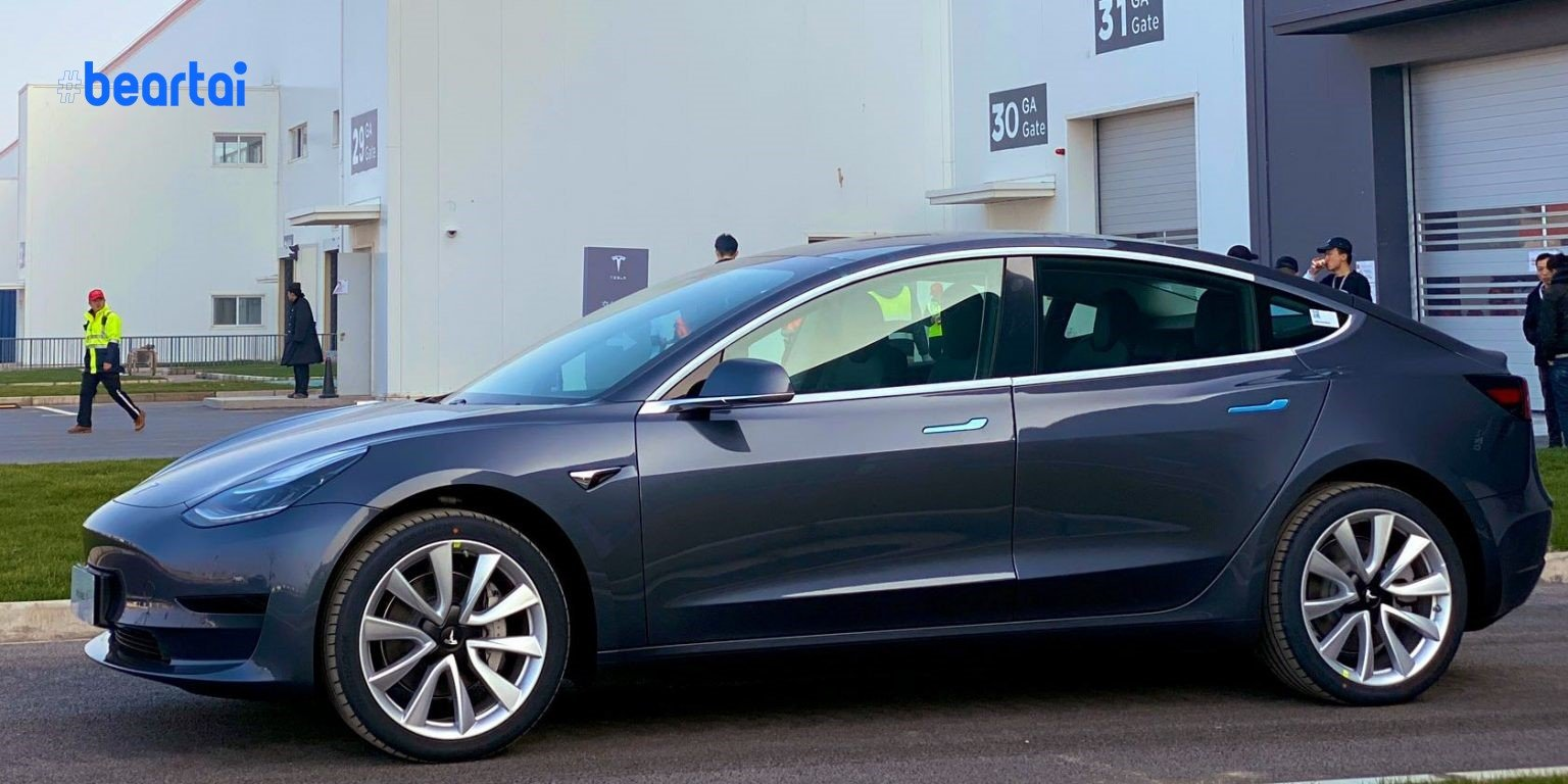 Tesla Model 3 Made in China