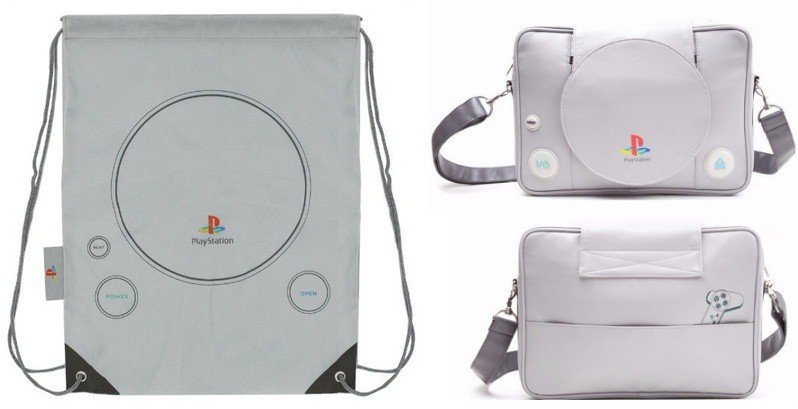 Shaped Playstation Messenger Bag