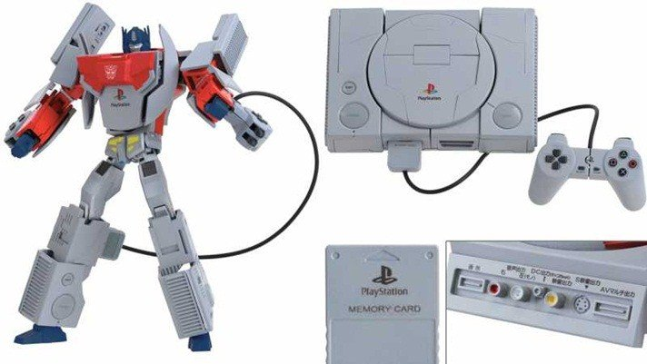 Transformers x PlayStation Optimus Prime
