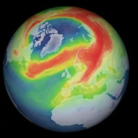 Ozone Hole Open Arctic
